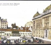 Branislav Nušić: Kafane na Pozorišnom trgu i Velikoj pijaci