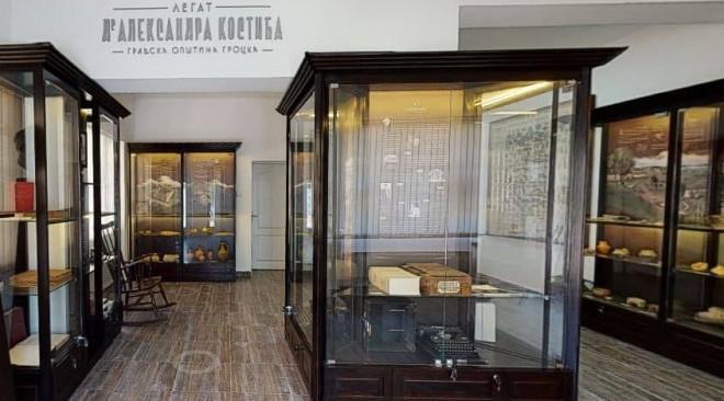Novi život stare zbirke – Legat dr Aleksandra Kostića u Grockoj