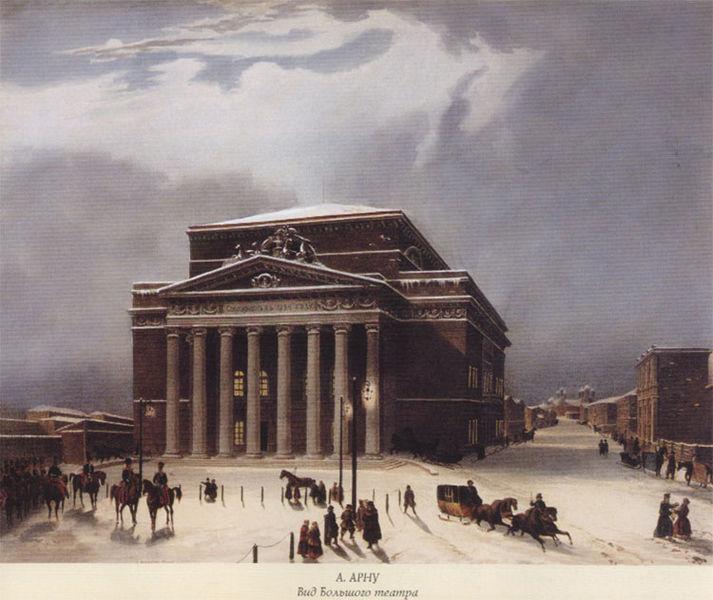 Boljšoj teatar u 19. veku