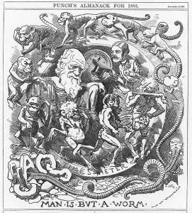 Naslovna strana koja prikazuje Darvina iz 1881. godine