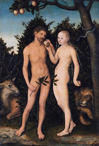 Luka KRanah, Adam i Eva