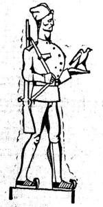 Karikatura iz Politike, 22.05.1927.