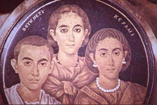 porodični portret Stari Rim