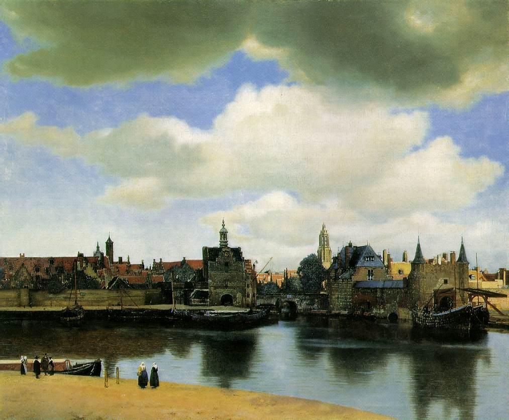 Vermer, Pogled na Delft