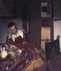 Vermer, Zaspala devojka