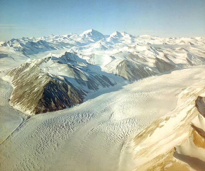 Lednik na Južnom polu