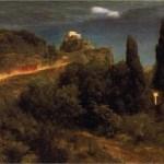 Arnold Beklin, planinska tvrđava