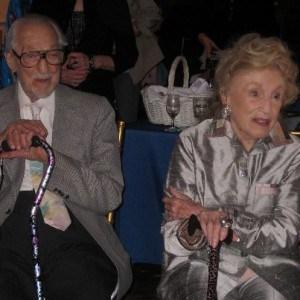 Bel and her husband Sidney Gluck