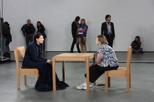 Marina Abramovic, MoMA, 2010