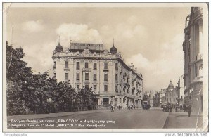 Hotel Bristol, Savamala