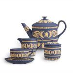 Vedžvudov pribor za čaj, istorijski