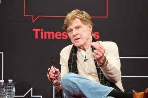 Robert Redford, TimesTalks, photo ©Matthew Arnold