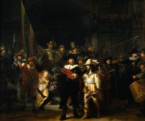 Rembrandt, The Nightwatch
