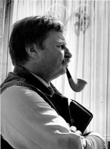Milorad Pavić, autor fotografije Miodrag Đorđević