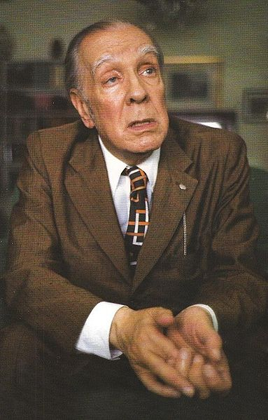 Jorge Luis Borges, photo Saro Facio