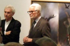Vladimir Veličković i Ljubomir Simović, Galerija SANU ©Pavle Tišma