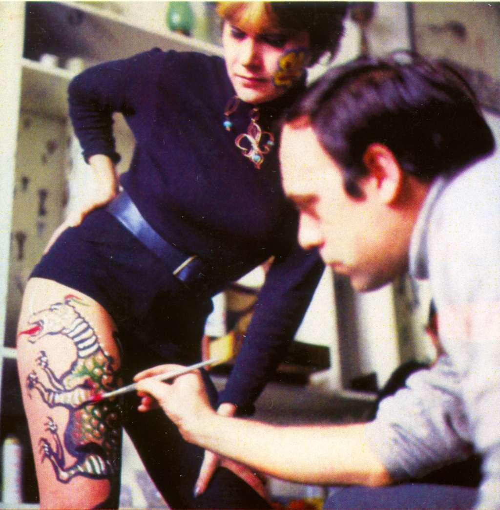 Body Art, Olja i Šejka