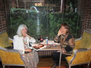 Maria Kodama and Isabel Bau Madden, May 2013, NYC