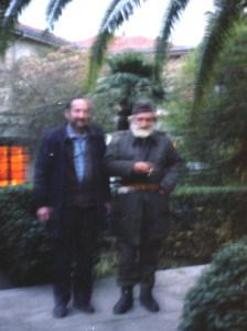 Peđa RIstić i Tupa Vukotić, arhiva P. Ristića