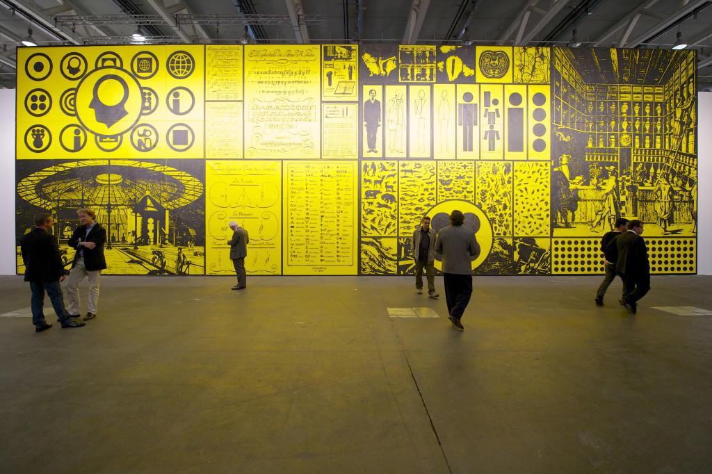 Art Basel 2013, Unlimited, Matt Mullican, MCH Messe Schweis (Basel) AG