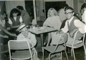 Olja Ivanjicki u Rovinju, sa prijateljima, arhiva Fonda Olge Olje Ivanjicki
