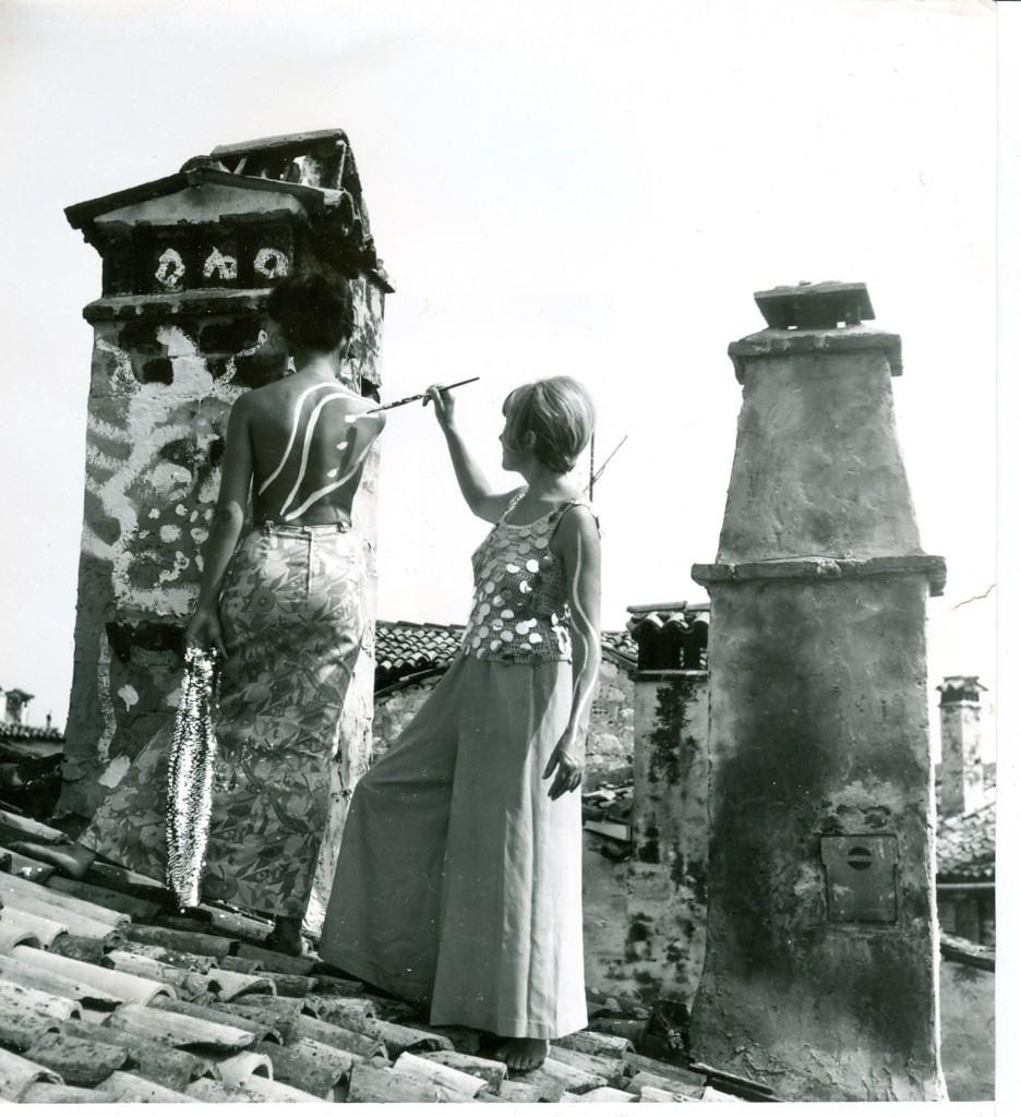 Rovinjski krovovi, 1966, Olja Ivanjicki i Ljiljana Petrović