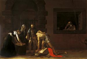 Karavađo, Usekovanje glave Jovana Krstitelja, Malta