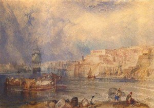 William Turner, Malta