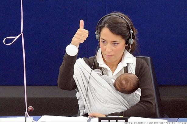 Licija Ronculi, poslanica Evropskog parlamenta, foto CNN