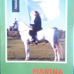 Marina Abramović, Plavi Jahač