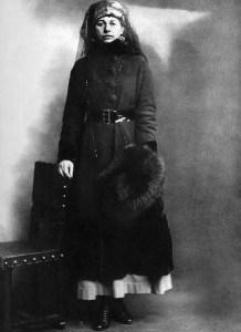 Mata Hari kada je uhapšena 1917.