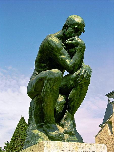 Ogist Roden, Mislilac, skulptura