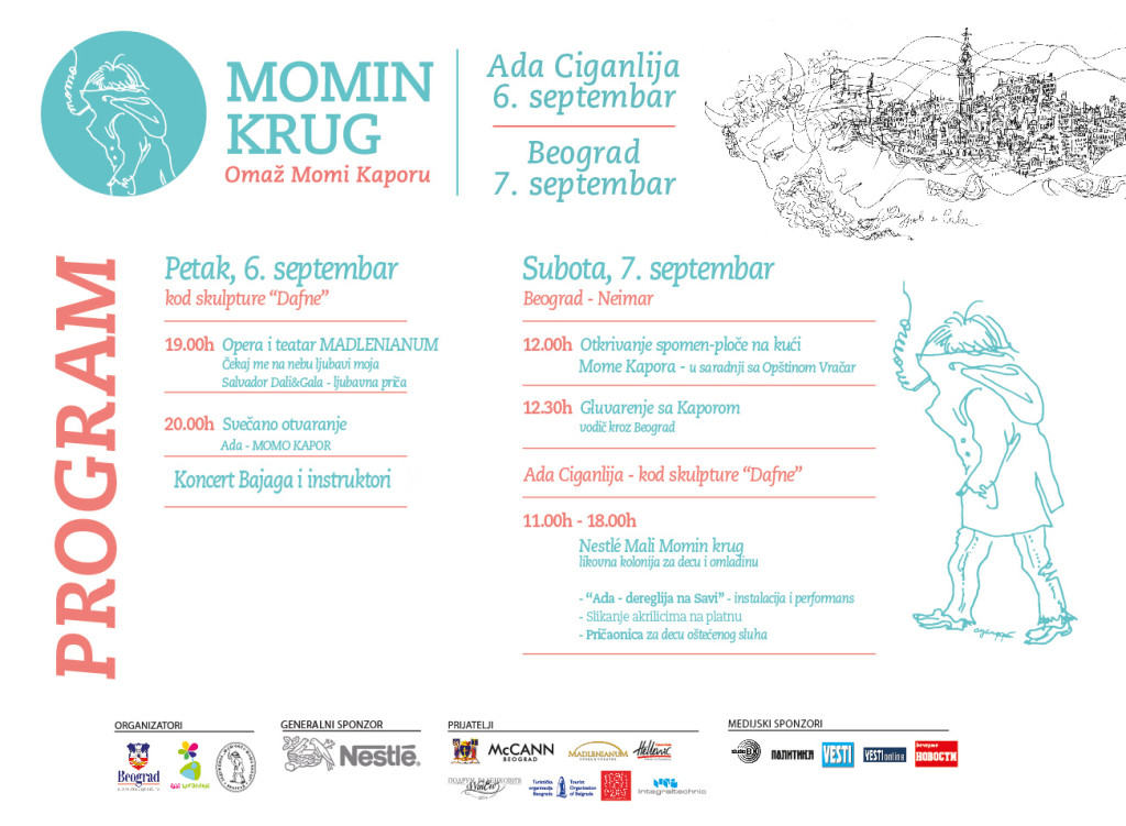 Program festivala Momin krug 2013.