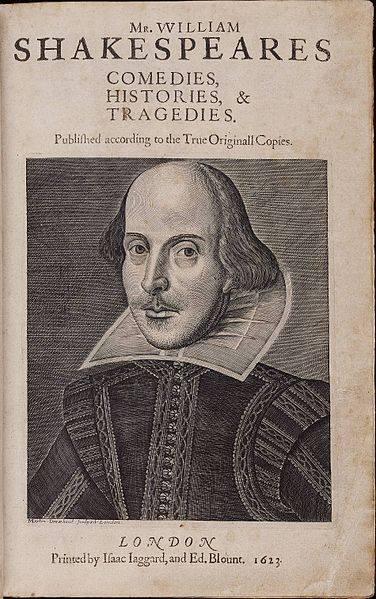 Šekspir, Folio