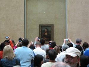 Luvr, gužva ispred Mona Lize, foto Charlie Phillips, via Flickr