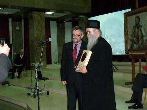 Mirko Mrkić i Mitropolit crnogorsko-primorski Amfilohije