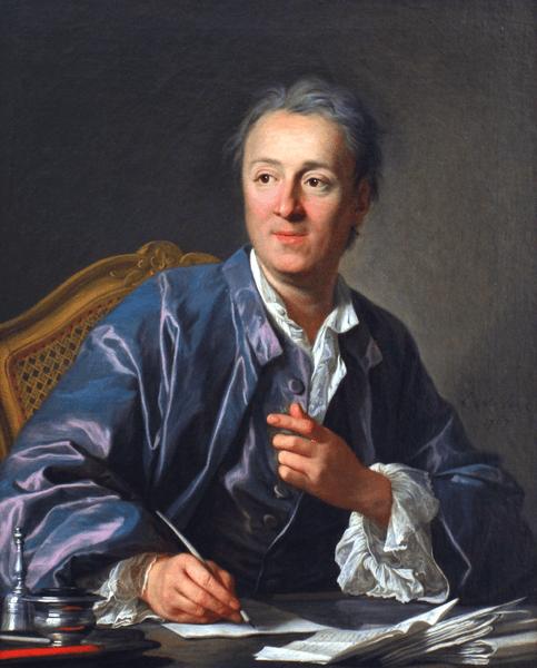 Deni Didro, 1767, Luj Mišel van Lo, Luvr, Pariz