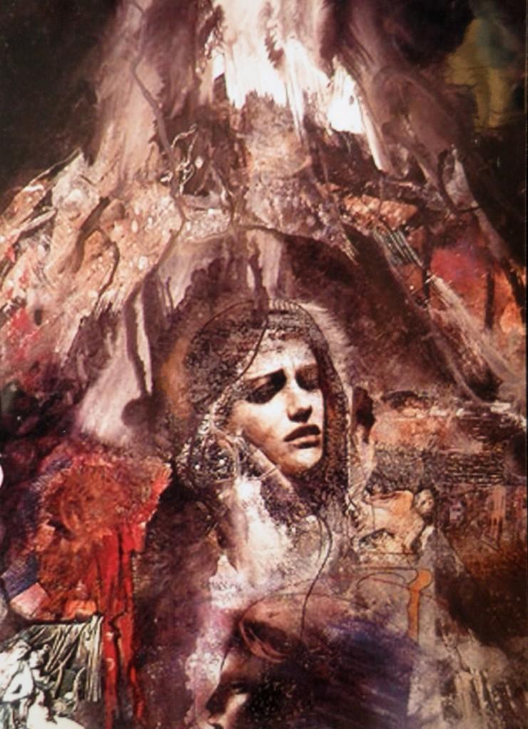 """Olja Ivanjicki, Sestra Batrićeva, iz ciklusa """"Noć skuplja vijeka"""", 1997."""