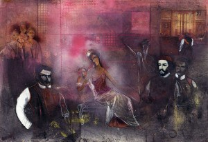 Olja Ivanjicki, Noć skuplja vijeka, Njegoš u Pompeji