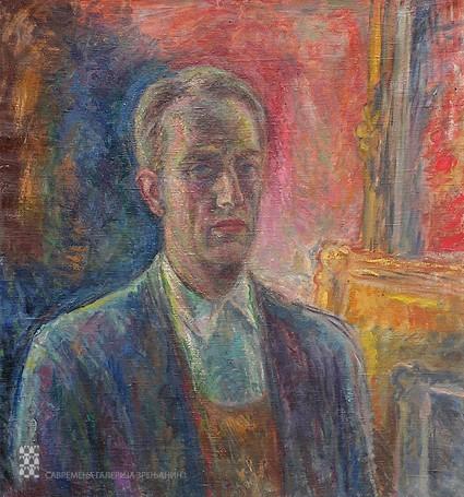 Ivan Radović: Autoportret, vl. Savremena galerija Zrenjanin