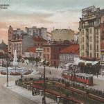 Beograd, stara razglednica Terazija, 1932