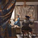 Vermer, Umetnik u Ateljeu