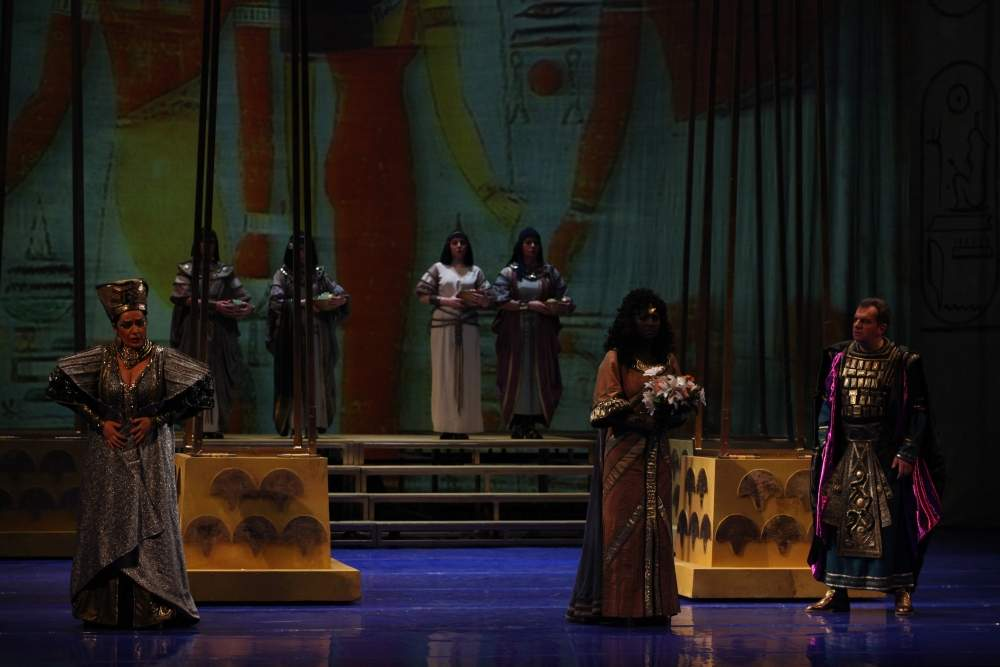Aida, NArodno pozorište