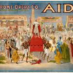 AIDA, Verdi, 1908