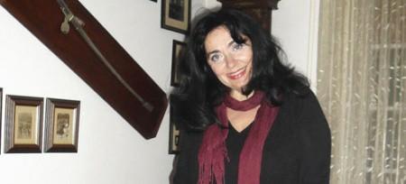 Jelena Vlahović u svom stanu, foto V.Đuričić