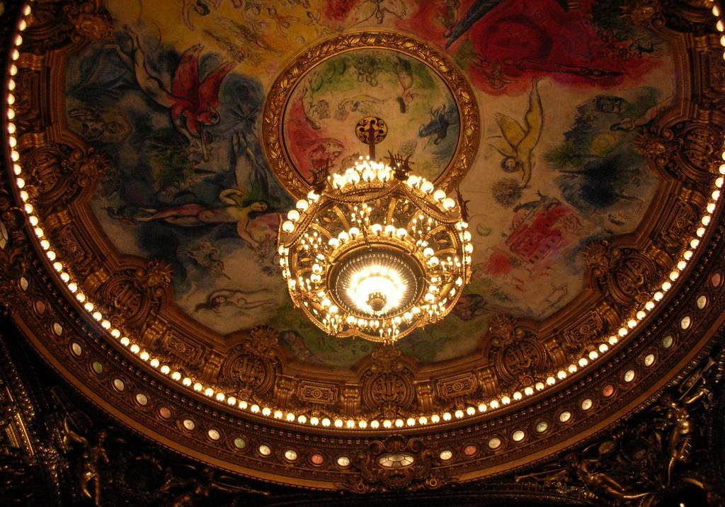 Mark Šagal, Opera Garnije, tavanica