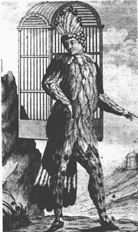 Emanuel Šikaneder, libretista Čarobne frule, kao prvi Papageno, 1791.