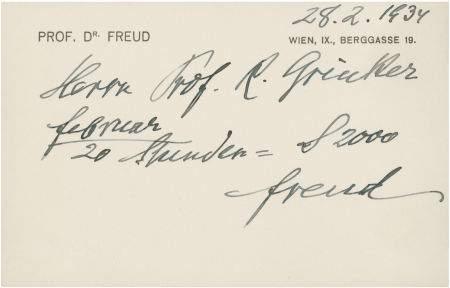 Sigmund Frojd: rukopis