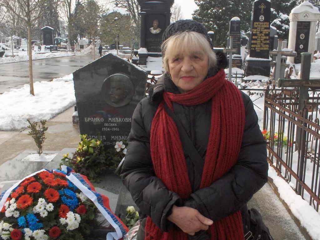 Anđelija Miljković, rođaka Branka Miljkovića