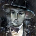 Olja Ivanjicki portret Branka Miljkovica